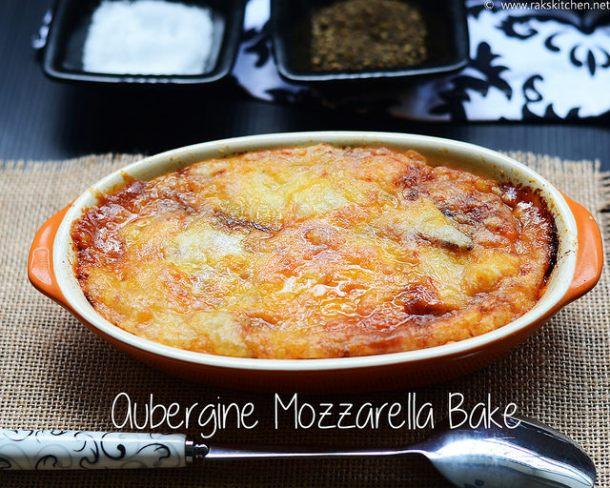 aubergine-mozarella