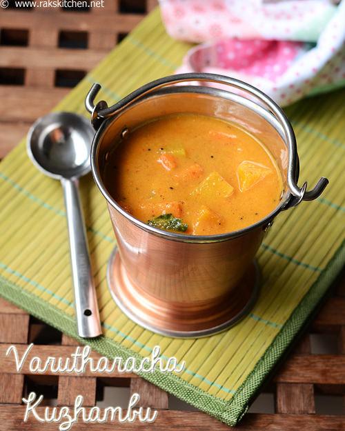 varutharacha-kuzhambu-sambar