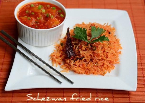 schezwan fried rice-1