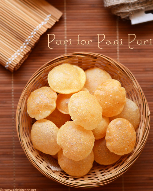 puri recipe for chaats