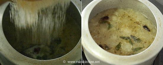 arisi upma recipe step 4