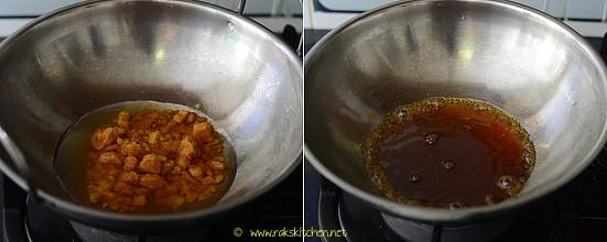 kadalai urundai recipe step 2