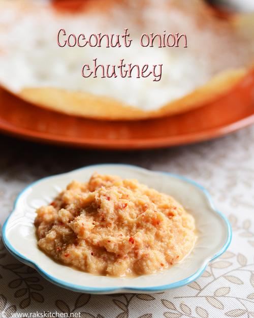 coconut onion chutney