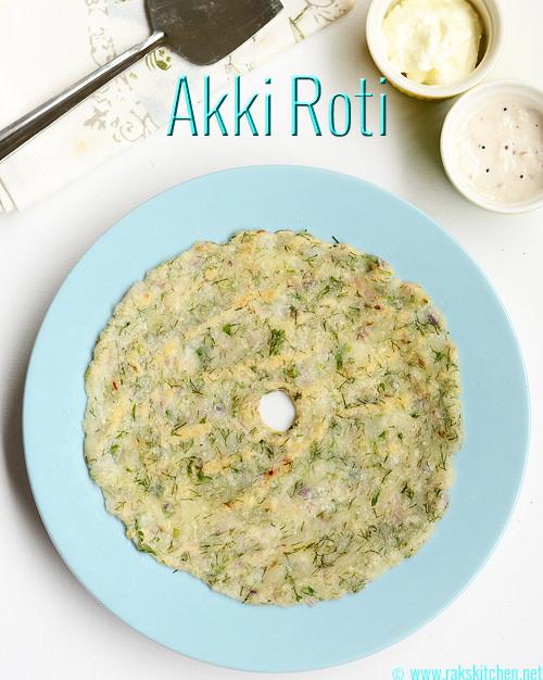 Akki-roti-with-dill