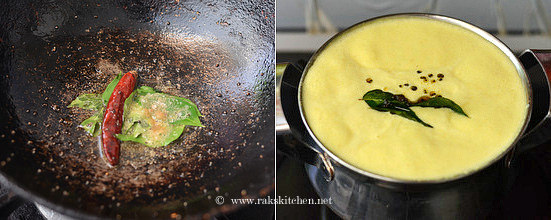 Mor kuzhambu recipe step 7