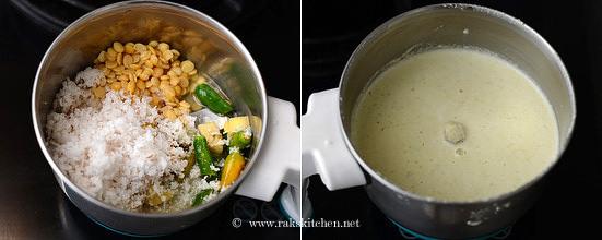 Mor kuzhambu recipe step 3