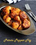 Potato pepper fry recipe