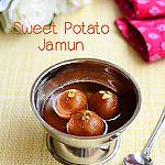 Sweet potato jamun