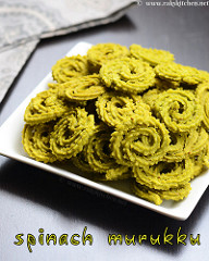 spinach murukku