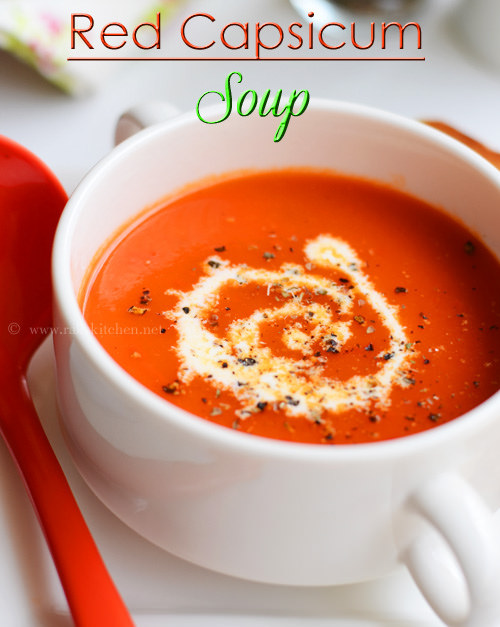 capsicum-soup