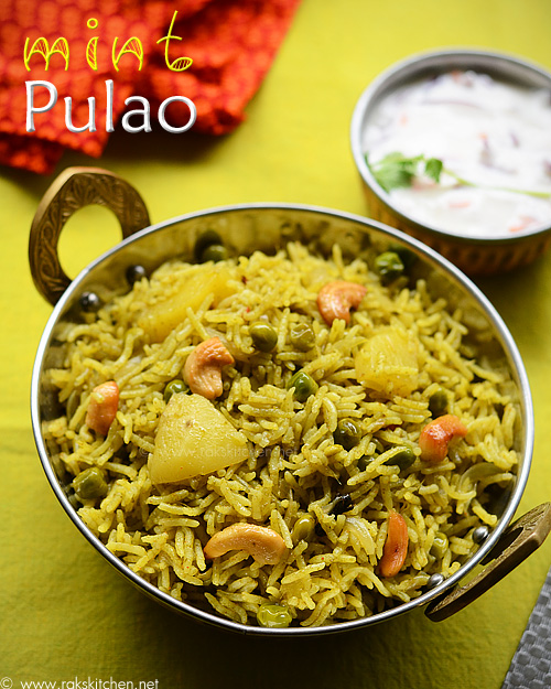 How-to-make-mint-pulao