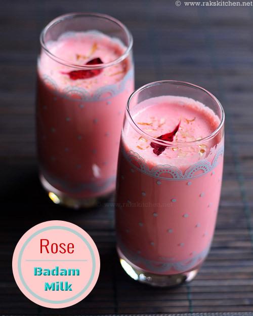 badam-rose-milk
