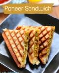 How to make paneer sandwich