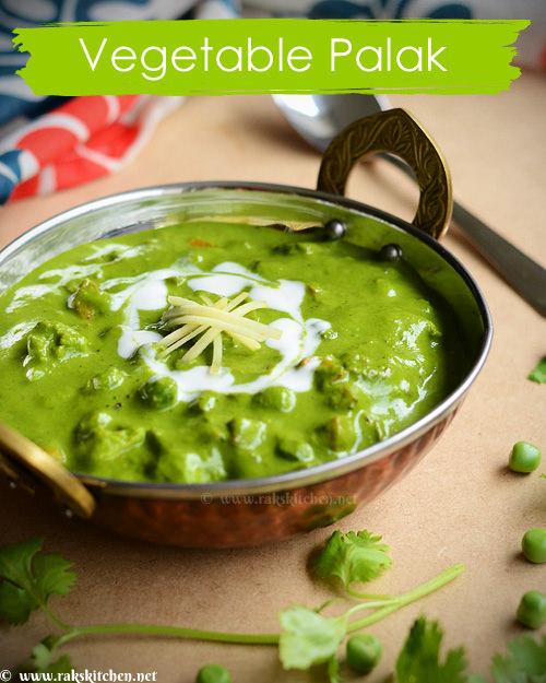 vegetable-palak-gravy