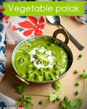 Vegetable palak gravy recipe