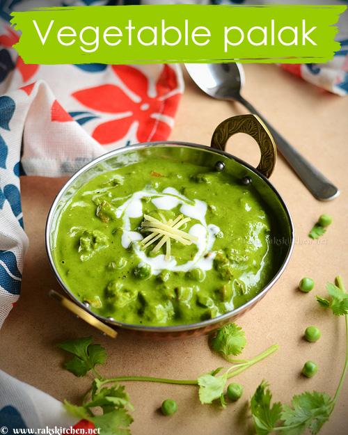 vegetable-palak-gravy-recipe