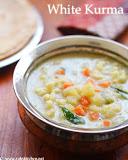 White kurma recipe