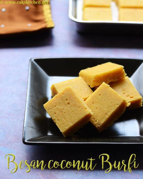 besan-coconut-burfi-recipe