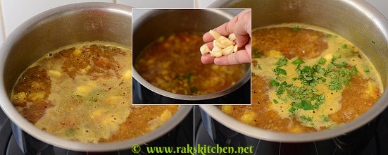 How to make cauliflower rasam 7