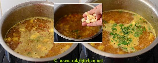 How to make cauliflower rasam 7