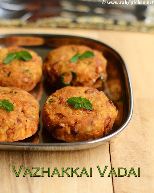 vazhakkai-vadai-recipe