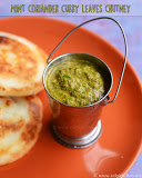 Curry leaves mint coriander chutney recipe