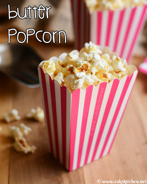 how to make butter popcorn