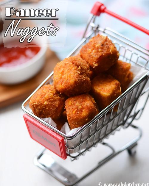 Paneer nuggets