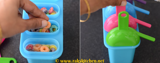 how to make cereal popsicle 3