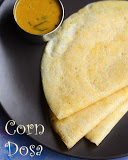 corn dosai recipe
