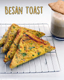 Besan bread toast recipe