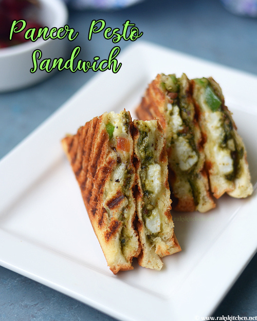 paneer-pesto-sandwich-recipe