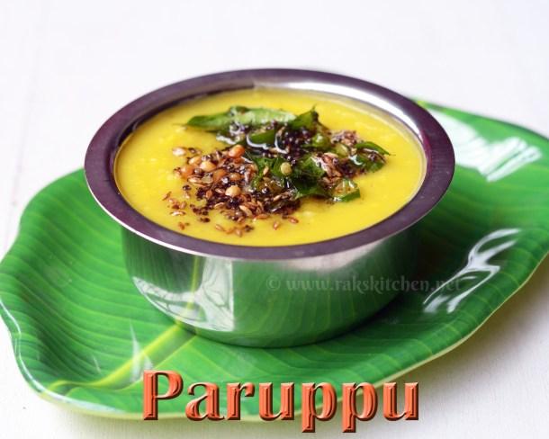 Paruppu-tamil-nadu