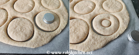 Eggless doughnut recipe, Basic donut, soft & light