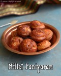millet-paniyaram-recipe