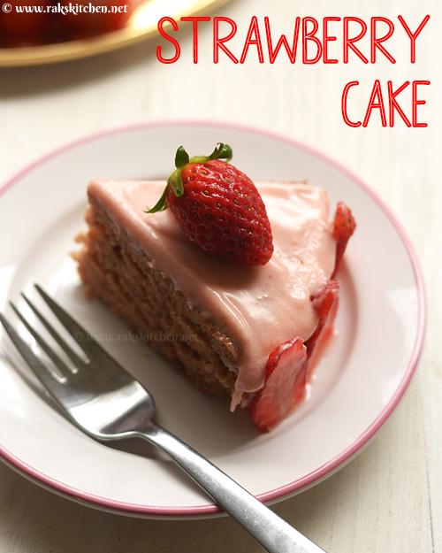 توت فرنگی-کیک-دستور