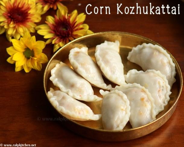 receita de milho kozhukattai