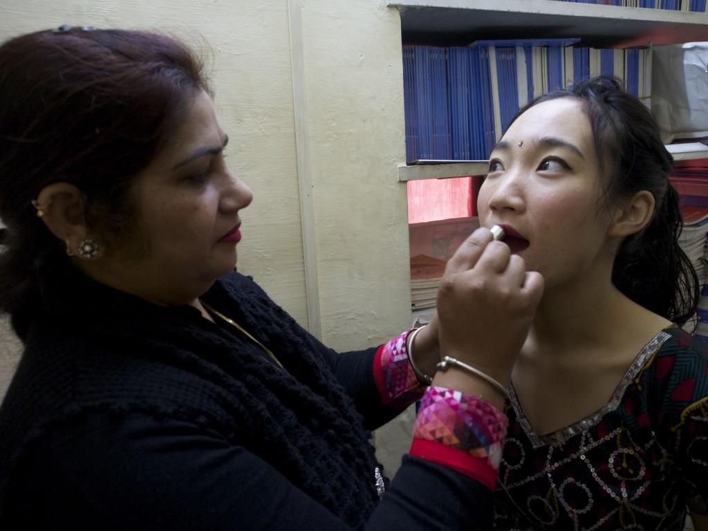 rajastani makeup