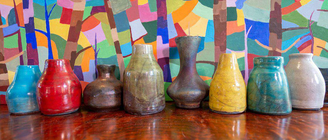 RaKuties - Raku Vases - Multicoloured