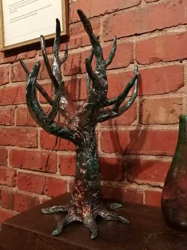 Raku Sculpture - Tree of Life