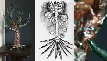 The Tree of Life - Raku Pottery Sculpture