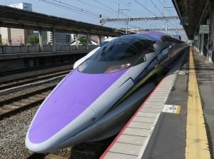 500 Type Eva 東広島駅通過待ち退避