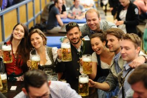 Bits and Pretzels and the Munich startup scene, Day 3, Oktoberfest, 27 September 2016. Photo: Andreas Gebert