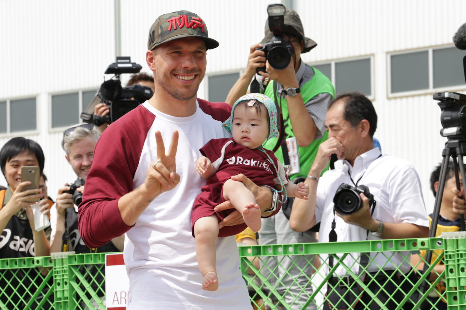 The new role will see Lukas Podolski appear in promotional videos and online campaigns for JNTO as it aims to encourage Germans to visit Japan.