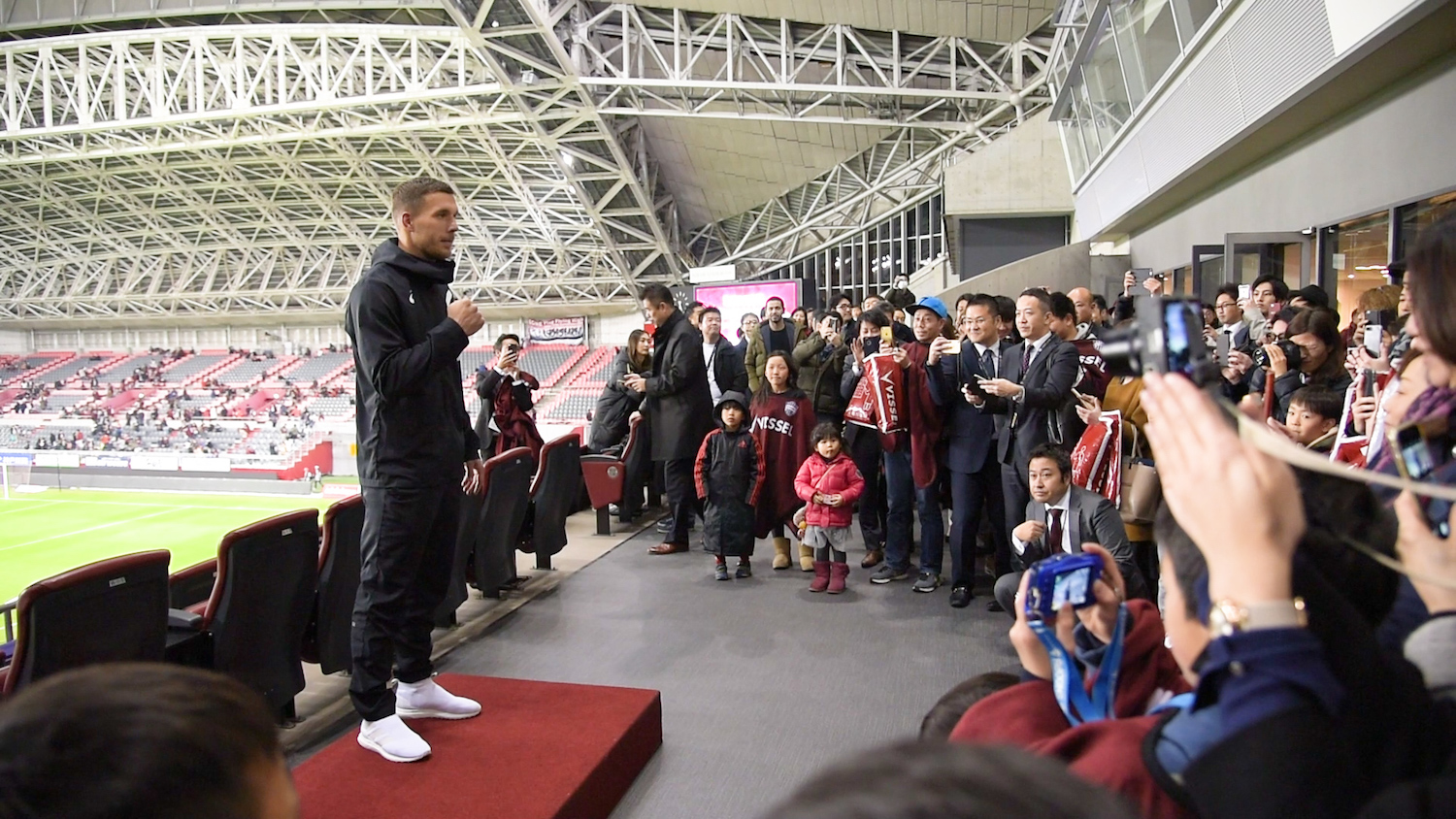 For Vissel Kobe, the new season has brought several exciting developments, starting with the very ground underneath the players' feet.