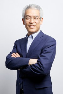 Hiroshi Takasawa, President of Rakuten's Investment Company and Director of the Asia Region, took to the main stage to outline what makes Rakuten unique.