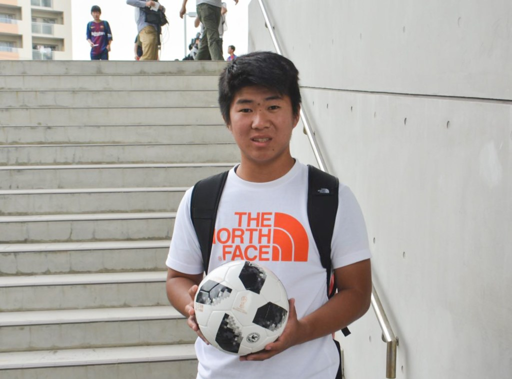For Vissel Kobe fan Masakazu Hashimoto, it was all about being in the right place.
