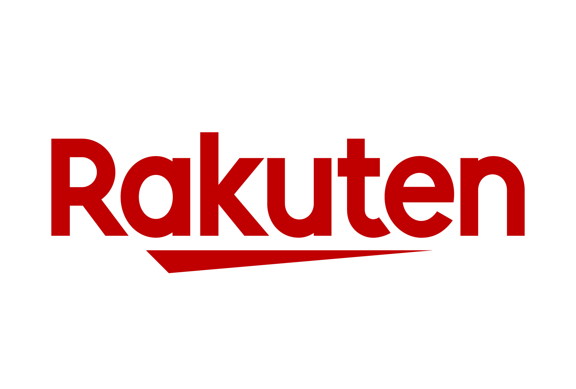 """The new brand logo incorporates the Japanese character for """"one"""", which symbolizes this new start and Rakuten's ambitions to take on new challenges."""