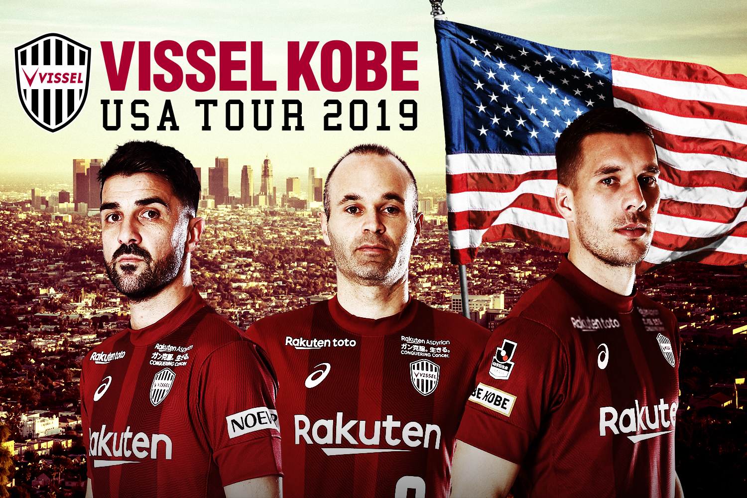 Vissel Kobe USA Tour 2019