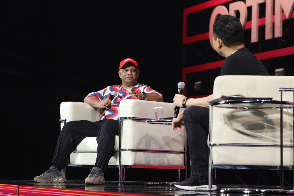 """I think there's a reality that air travel will become more like buses, where space is a premium, and we're beginning to see some of the sharing economy with private jets,"" said Air Asia CEO Tony Fernandes."